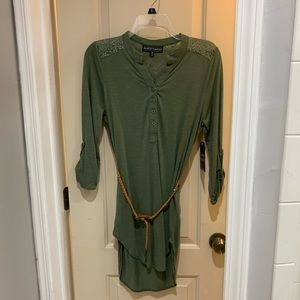 Almost Famous Belted Tunic